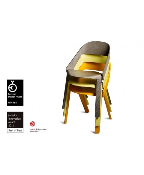 Roya Stackable Chair Wogg50 Wogg img0