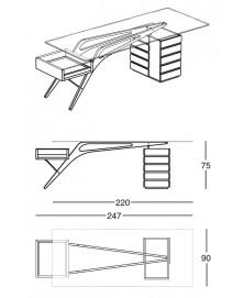 Cavour Desk Zanotta img6