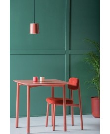 Residence Light Red Table Kann img1