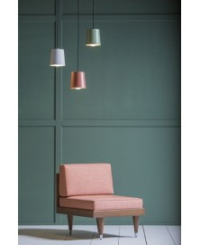 Bi Back Light Red Armchair Kann img1