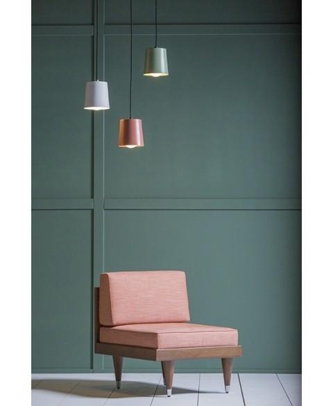 Bi Back Light Red Armchair Kann img1