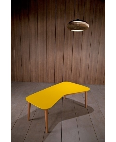 acheter la table basse vy jaune kann table de design. Black Bedroom Furniture Sets. Home Design Ideas