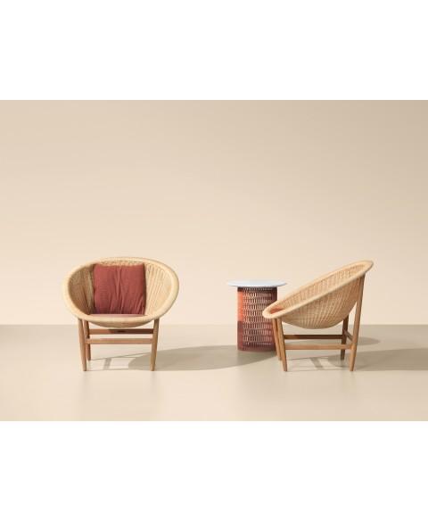 Basket Outdoor Chair Kettal img1