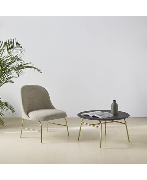 Aleta Lounge Chair Viccarbe img1