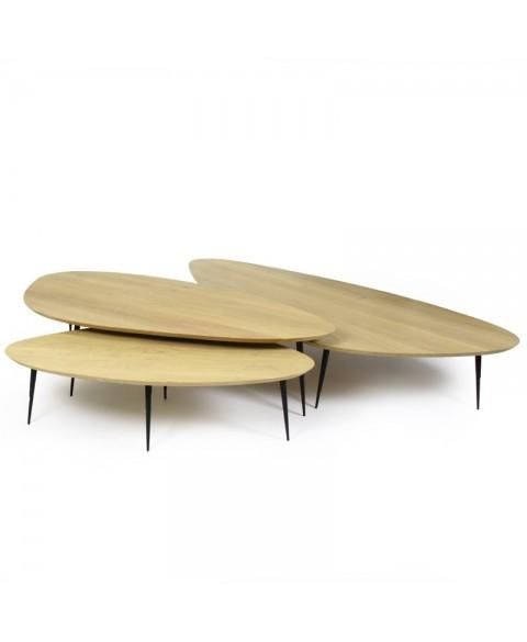 Pebble Side Table Marie's Corner img1