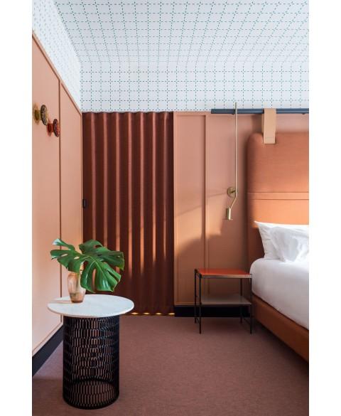 Textile folding doors img6