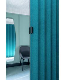 Textile folding doors img7