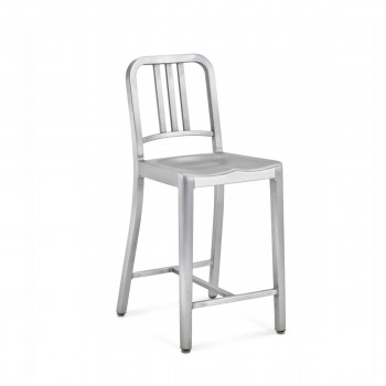 1006 Navy Counter Stool Emeco img0