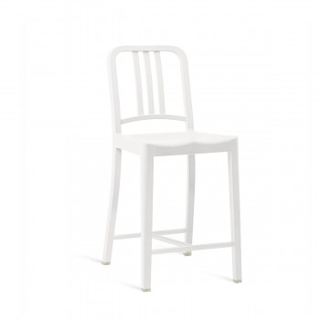 111 Navy Counter Stool Emeco img0